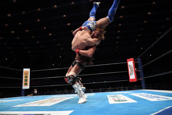 ibushi vs naito njow castle attack 2021