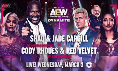 shaquille o neal catch aew