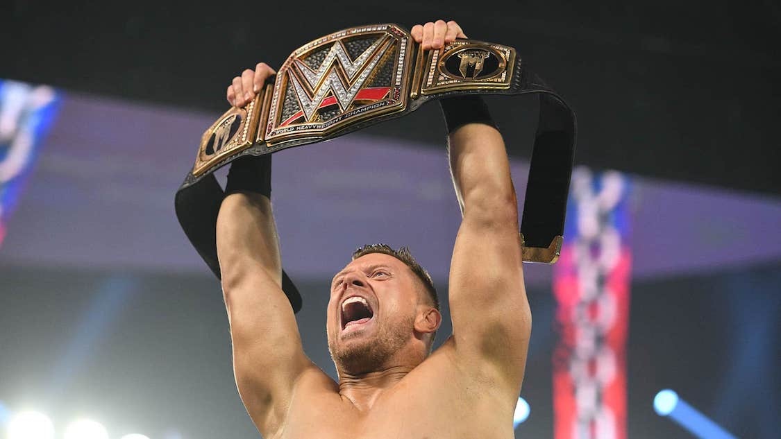 the miz champion wwe