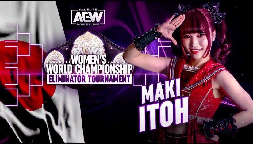 world title eliminator maki itoh