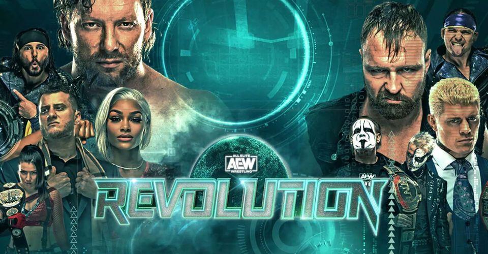 carte aew revolution 2021
