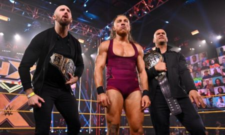 danny burch blessure titres nxt vacants