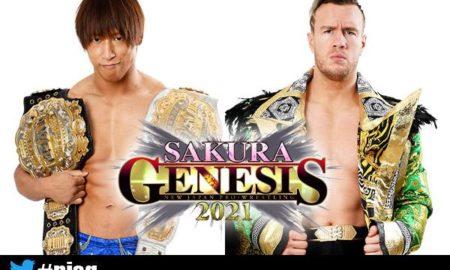 ibushi vs ospreay njpw sakura genesis 2021