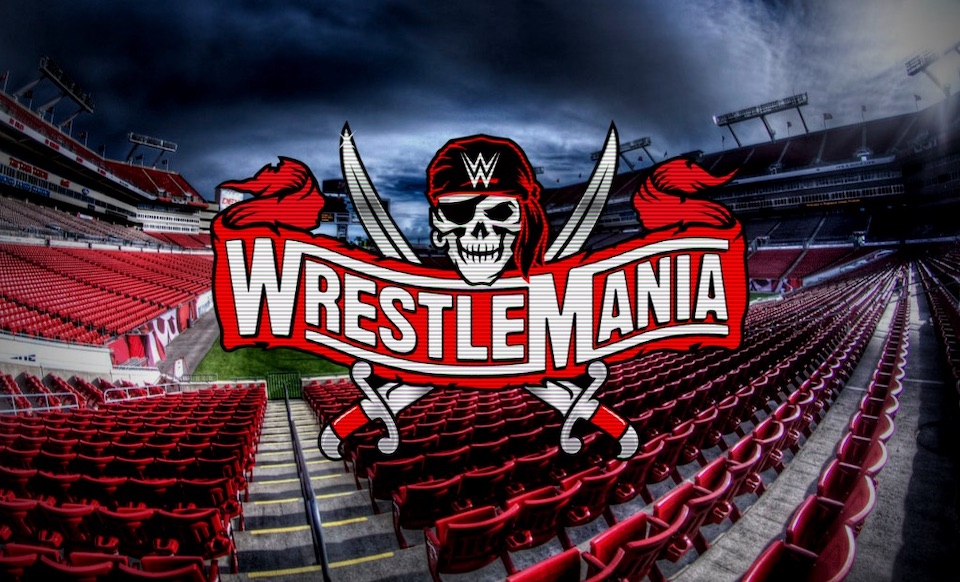 wrestlemania 37 raymond james stadium spectateurs