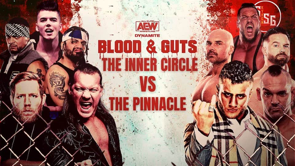 aew blood and guts carte