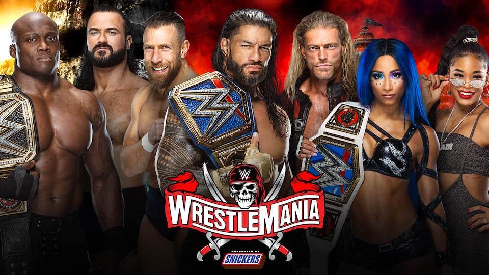 carte finale wrestlemania 37