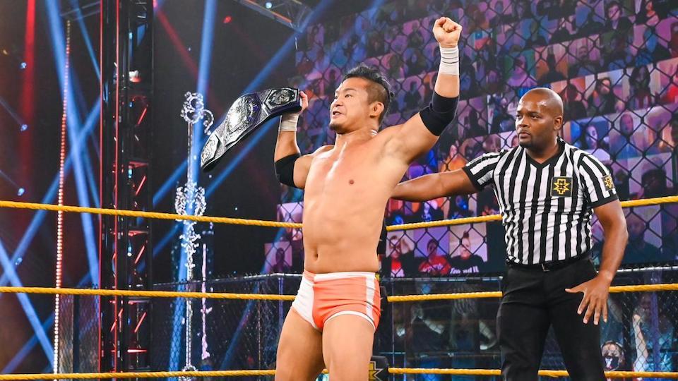 kushida cruiserweight champion