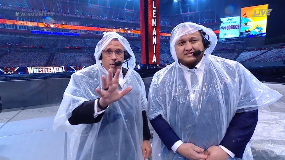 michael cole samoa joe wrestlemania 37