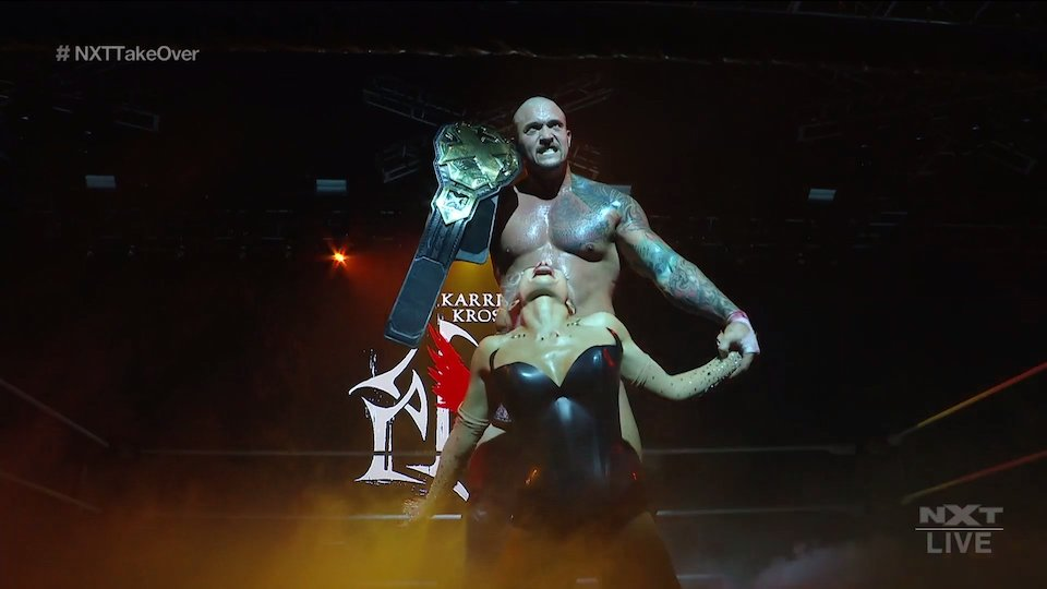 nxt takeover stand deliver karrion kross