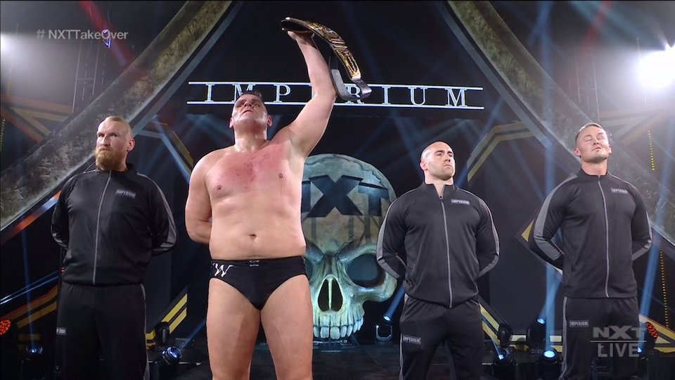 nxt takeover stand deliver walter ciampa