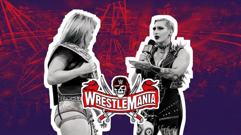 wrestlemania 37 asuka rhea ripley