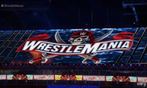 wrestlemania 37 decor