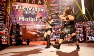 wwe raw viking raiders retour