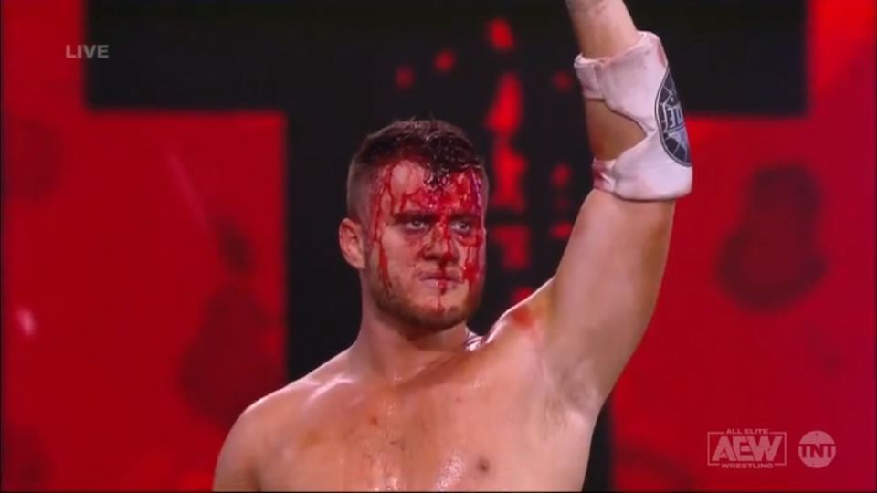 mjf the pinnacle inner cicle blood and guts