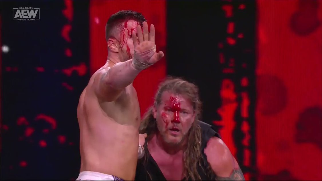 resultats aew blood and guts