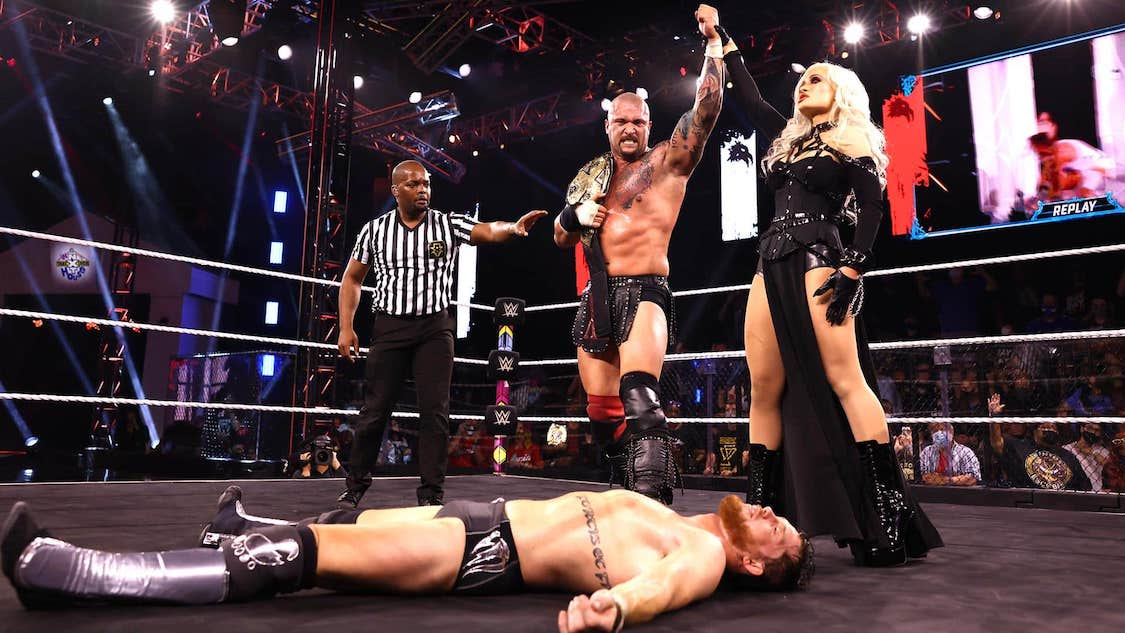 resultats nxt takeover in your house karrion kross