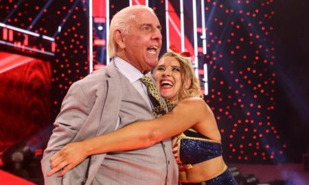 ric flair lacey evans raw
