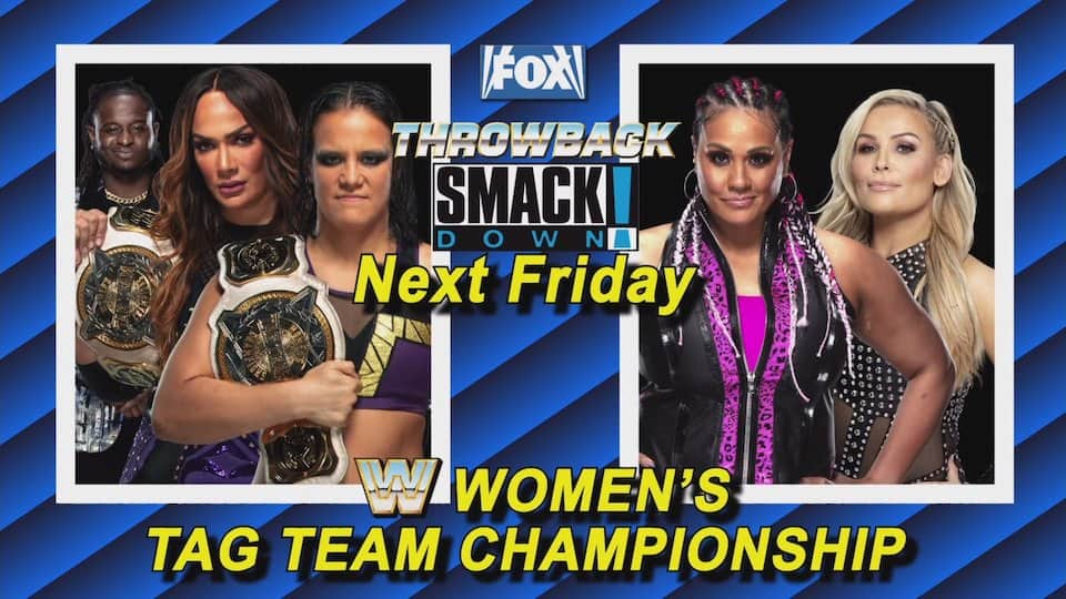 titres championnes equipe wwe smackdown