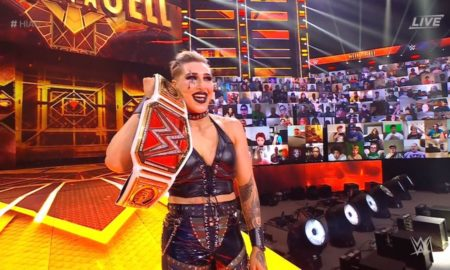 wwe hell in a cell 2021 rhea ripley charlotte flair
