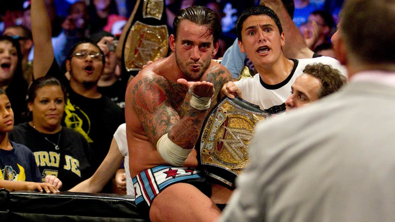 wwe money in the bank 2011 cm punk