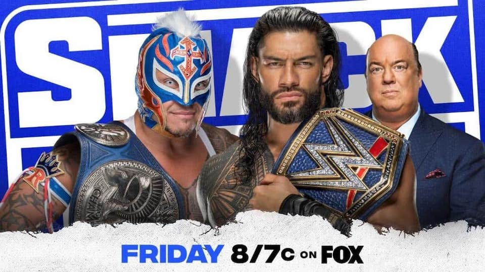 wwe smackdown match hell in a cell rey mysterio roman reigns