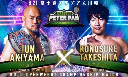 akiyama vs takeshita wrestle peter pan 2021 compressed 3