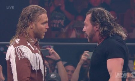 resultats aew dynamite road rager hangman page kenny omega
