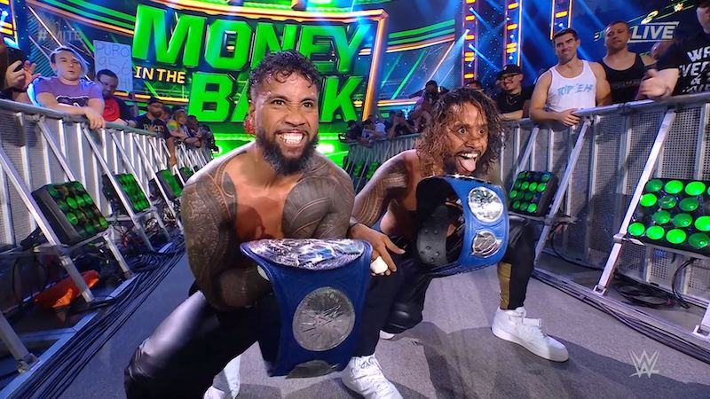 wwe mitb usos champions equipe smackdown