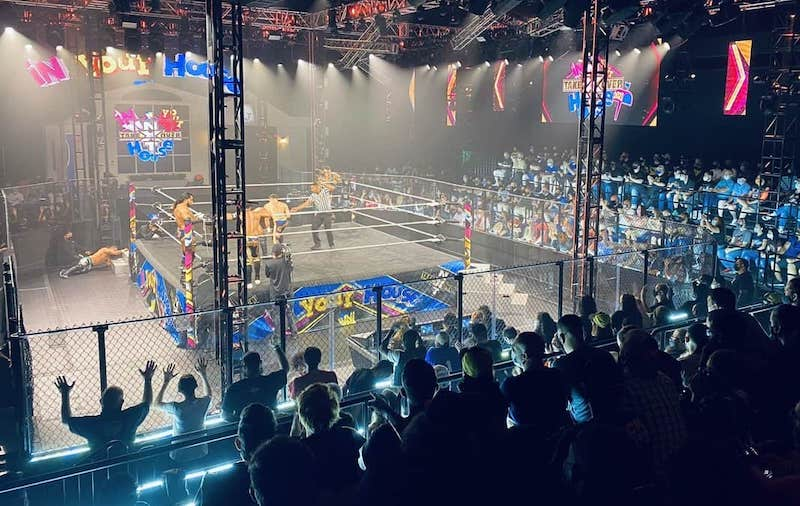 wwe nxt capitol wrestling center