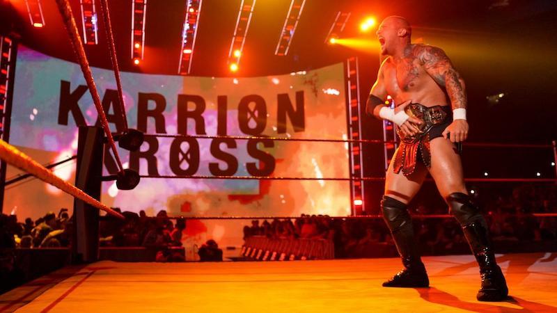 wwe raw karrion kross debuts