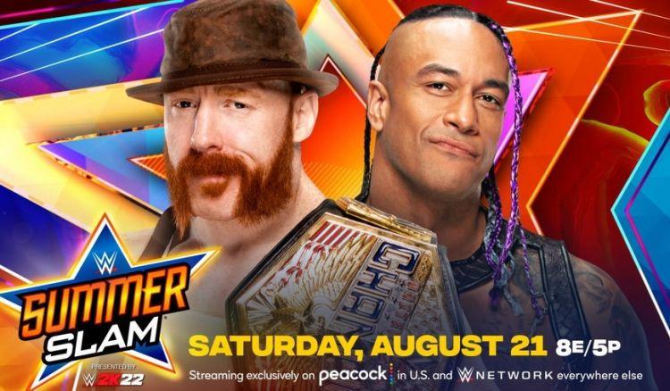 Sheamus vs Priest WWE SummerSlam 2021