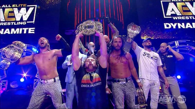 aew all out 2021 carte matchs annonces