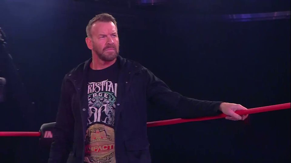 impact wrestling christian cage