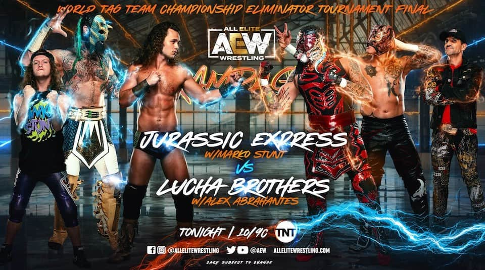 resultats aew rampage 27 aout 2021