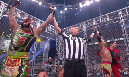 aew all out 2021 lucha bros young bucks champions