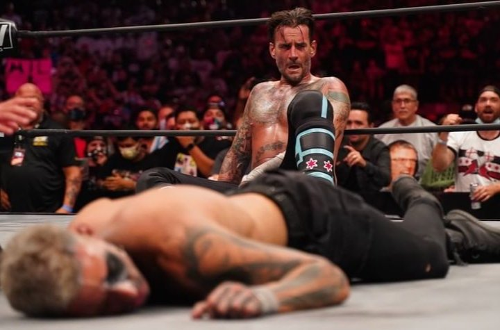aew cm punk all out 2021