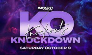 impact wrestling knockouts knockdown