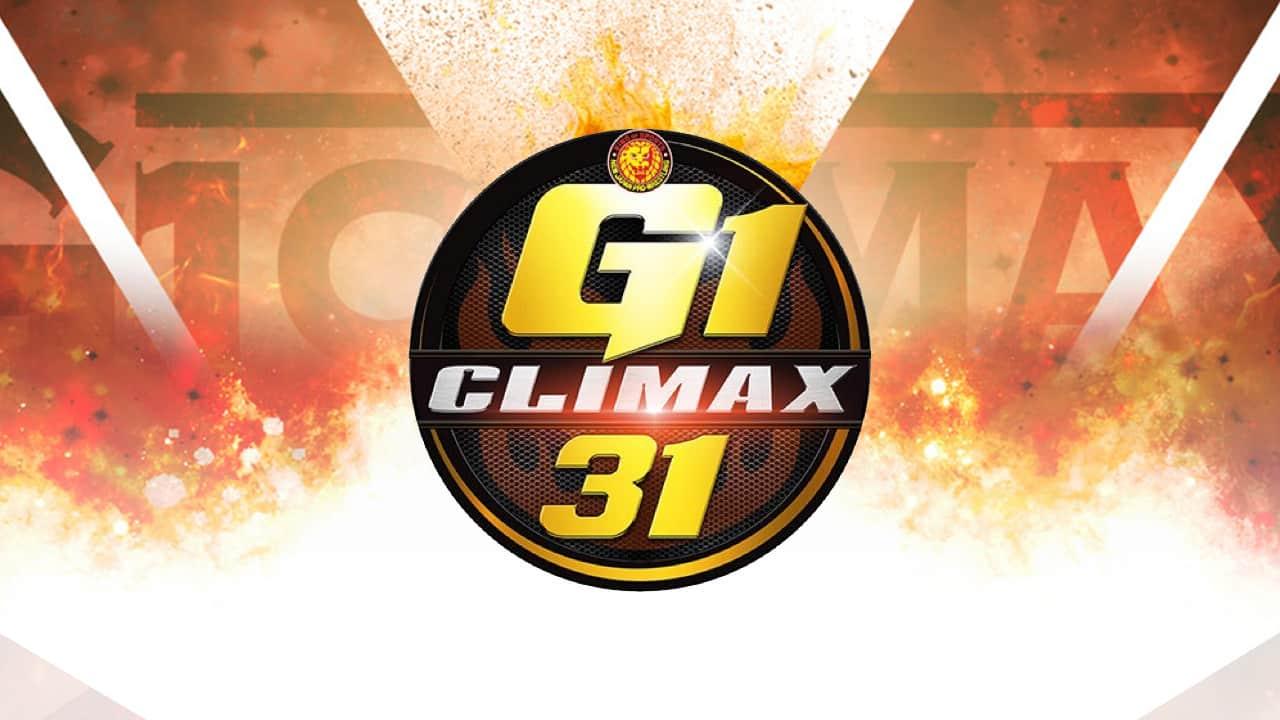 njpw g1 climax 31 participants blocks
