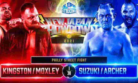 njpw new japan showdown moxley kingston suzuki archer