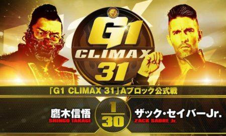 resultats njpw g1 climax 31 23 septembre