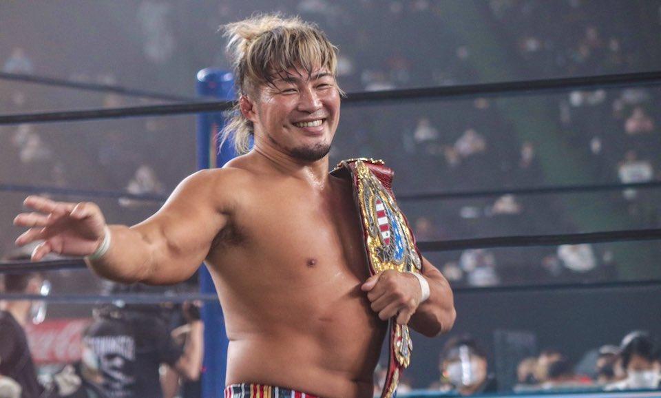 resultats njpw wrestle grand slam