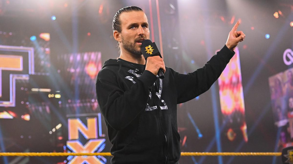 wwe adam cole manager keith lee