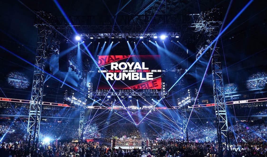 wwe royal rumble 2022 date lieu