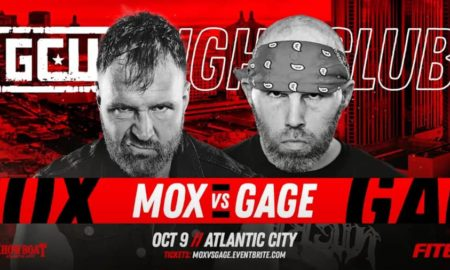 resultats gcw fight club moxley gage