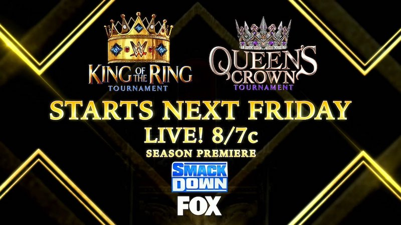 smackdown wwe king of the ring queens crown participants matchs