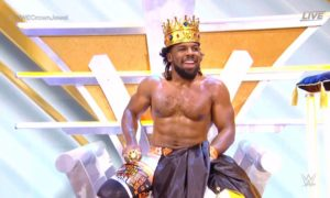 wwe crown jewel 2021 xavier woods king of the ring